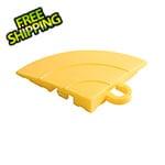 Swisstrax Diamondtrax Home Citrus Yellow Garage Floor Tile Corner (Pack of 4)