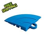 Swisstrax Diamondtrax Home Royal Blue Garage Floor Tile Corner (Pack of 4)