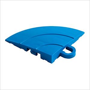 Diamondtrax Home Royal Blue Garage Floor Tile Corner (Pack of 4)