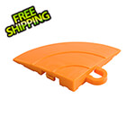 Swisstrax Diamondtrax Home Tropical Orange Garage Floor Tile Corner (Pack of 4)