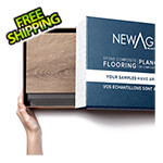 NewAge Garage Floors Vinyl Plank Flooring Sample Kit