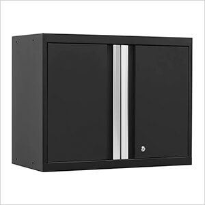 PRO 3.0 Series Black Wall Cabinet