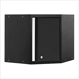 PRO 3.0 Series Black Corner Cabinet