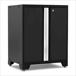 PRO 3.0 Series Black 2-Door Base Cabinet