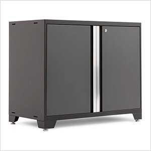 "PRO 3.0 Series Grey 42"" 2-Door Base Cabinet"