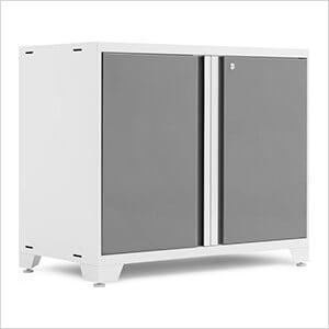 "PRO 3.0 Series White 42"" 2-Door Base Cabinet"