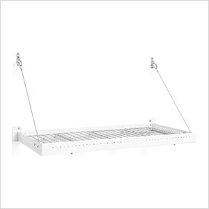 PRO Series 2 ft. x 4 ft. Wall Mounted Steel Shelf (6-Pack)