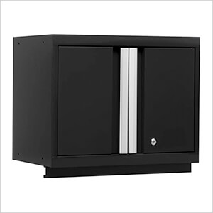 BOLD Series Black Wall Cabinet