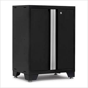 BOLD Series Black 2-Door Base Cabinet