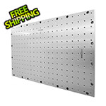 "System X Storage 41.5"" X 25.5"" Stainless Steel Pegboard"