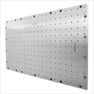 """41.5"""" X 25.5"""" Stainless Steel Pegboard"""
