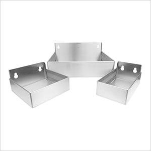 Variety Stainless Steel Bins (3 Pack)