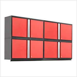 """PRO 3.0 Series Red 42"""" Wall Cabinet (4 pack)"""