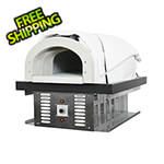 "Chicago Brick Oven 38"" x 28"" Natural Gas / Wood Fired Hybrid Pizza Oven DIY Kit (Commercial)"