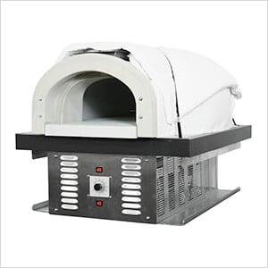 "38"" x 28"" Liquid Propane / Wood Fired Hybrid Pizza Oven DIY Kit (Commercial)"