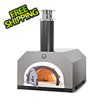 "Chicago Brick Oven 27"" x 22"" Countertop Wood Fired Pizza Oven (Silver Vein)"