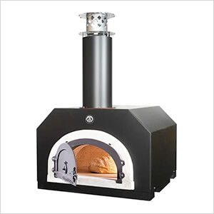 "27"" x 22"" Countertop Wood Fired Pizza Oven (Solar Black)"