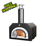 "Chicago Brick Oven 38"" x 28"" Countertop Wood Fired Pizza Oven (Solar Black)"