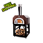 "Chicago Brick Oven 38"" x 28"" Mobile Wood Fired Pizza Oven (Copper Vein)"