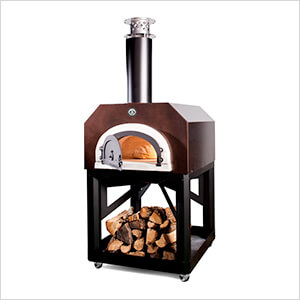 """38"""" x 28"""" Mobile Wood Fired Pizza Oven (Copper Vein)"""