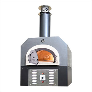 """38"""" x 28"""" Hybrid Countertop Natural Gas / Wood Pizza Oven (Silver Vein - Residential)"""