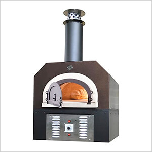 """38"""" x 28"""" Hybrid Countertop Natural Gas / Wood Pizza Oven (Copper Vein - Commercial)"""
