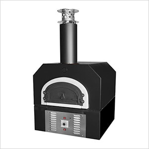 "38"" x 28"" Hybrid Countertop Natural Gas / Wood Pizza Oven (Solar Black - Commercial)"