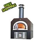 "Chicago Brick Oven 38"" x 28"" Hybrid Countertop Liquid Propane / Wood Pizza Oven (Copper Vein - Residential)"