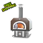 """Chicago Brick Oven 38"""" x 28"""" Hybrid Countertop Natural Gas / Wood Pizza Oven (Copper Vein - Residential)"""