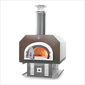 "38"" x 28"" Hybrid Countertop Liquid Propane / Wood Pizza Oven (Copper Vein - Commercial)"