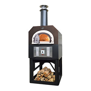 38 X 28 Hybrid Countertop Natural Gas / Wood Pizza Oven (copper Vein - Commercial)