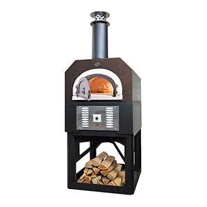 38 X 28 Hybrid Countertop Liquid Propane / Wood Pizza Oven (copper Vein - Residential)