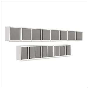 PRO 3.0 Series 8-Piece Platinum Wall Cabinet Set