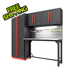 Proslat Fusion Pro 5-Piece Garage Workbench System - The Works (Barrett-Jackson Edition)