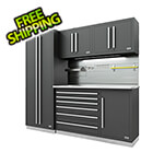 Proslat Fusion Pro 5-Piece Tool Cabinet System - The Works (Silver)