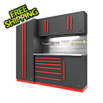 Proslat Fusion Pro 5-Piece Tool Cabinet System - The Works (Barrett-Jackson Edition)