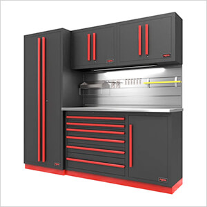 Fusion Pro 5-Piece Tool Cabinet System - The Works (Barrett-Jackson Edition)