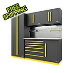 Proslat Fusion Pro 5-Piece Tool Cabinet System - The Works (Yellow)