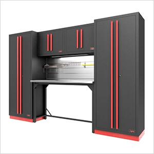 Fusion Pro 6-Piece Garage Workbench System - The Works (Barrett-Jackson Edition)