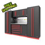 Proslat Fusion Pro 6-Piece Tool Cabinet System - The Works (Barrett-Jackson Edition)