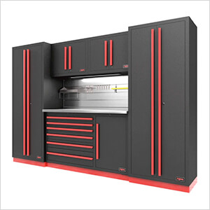Fusion Pro 6-Piece Tool Cabinet System - The Works (Barrett-Jackson Edition)