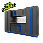 Proslat Fusion Pro 6-Piece Tool Cabinet System The Works (Blue)