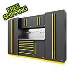 Proslat Fusion Pro 6-Piece Tool Cabinet System - The Works (Yellow)