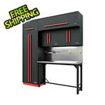 Proslat Fusion Pro 7-Piece Garage Workbench System - The Works (Barrett-Jackson Edition)