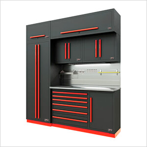 Fusion Pro 7-Piece Tool Cabinet System - The Works (Barrett-Jackson Edition)