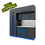 Proslat Fusion Pro 7-Piece Tool Cabinet System - The Works (Blue)