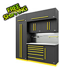 Proslat Fusion Pro 7-Piece Tool Cabinet System - The Works (Yellow)