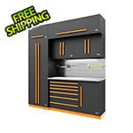 Proslat Fusion Pro 7-Piece Tool Cabinet System - The Works (Orange)