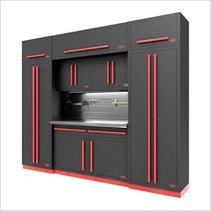 Fusion Pro 9-Piece Garage Cabinet System - The Works (Barrett-Jackson Edition)