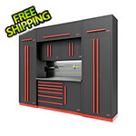 Proslat Fusion Pro 9-Piece Tool Cabinet System - The Works (Barrett-Jackson Edition)